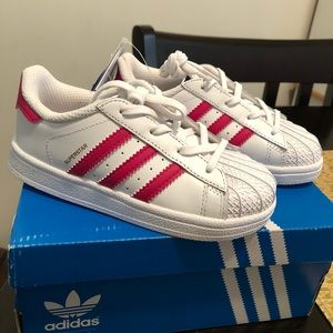 Little Girls Adidas Superstar Sneakers